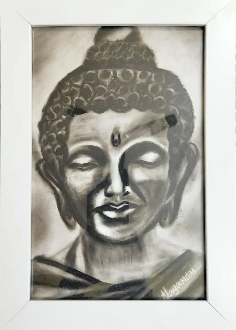 Charcoal Drawing & Pencil Shading - Ini Institute of Fine Arts